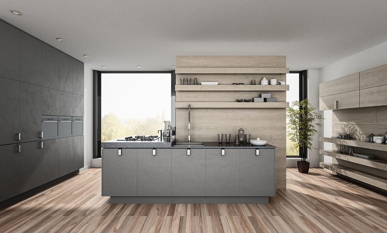 Кухни Радолад стиль минимализм